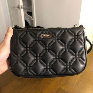 Kate spade black handbag/clutch